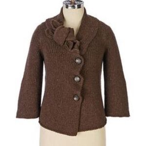 Charlie & Robin Wool Thick Cardigan Coat